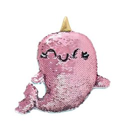 Fashion Angels Magic Sequin Narwhal Plush by Fashion Angels