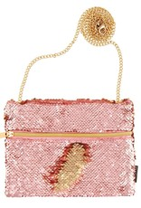 Fashion Angels Rose Gold Magic Sequin Belt Bag by Fashion Angels