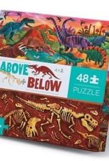 Above & Below Dinosaur World 48-pc Puzzle by Crocodile Creek