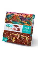 Above & Below Dinosaur World 48-pc Puzzle by Crocodile Creek