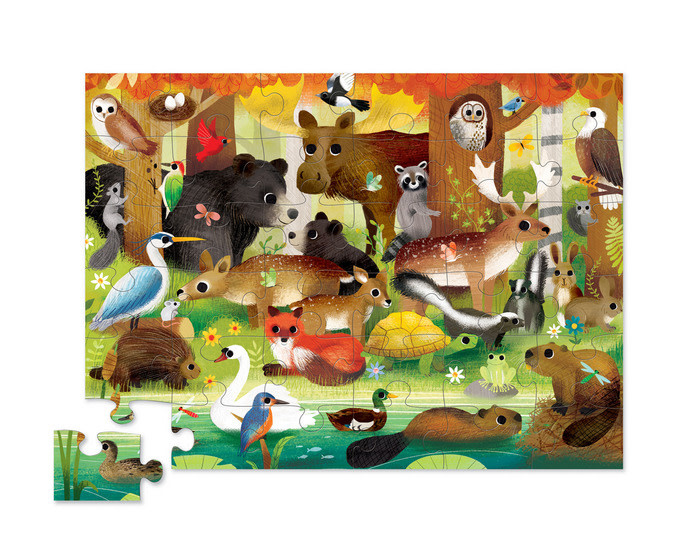 Forest Friends 36-pc Puzzle by Crocodile Creek