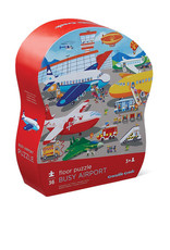 Busy Airport 36-pc Puzzle by Crocodile Cree