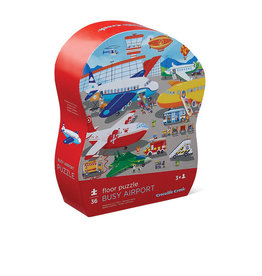 Busy Airport 36-pc Puzzle by Crocodile Creek