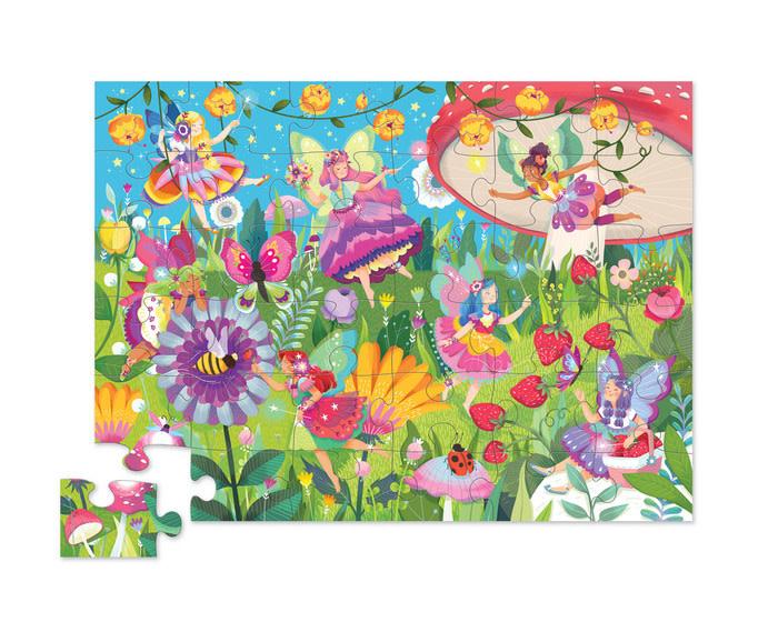 Fairy Garden 36-pc Puzzle by Crocodile Creek