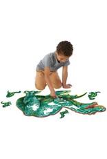 Shiny Dinosaur 51-pc Puzzle by Peaceable Kingdom