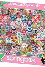 Crazy Quilts 500-pc Puzzle by Springbok