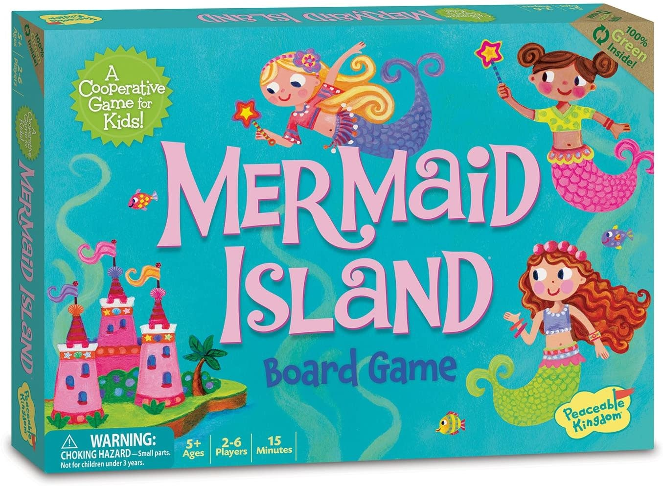 Mermaid Island Game by Peaceable Kingdom