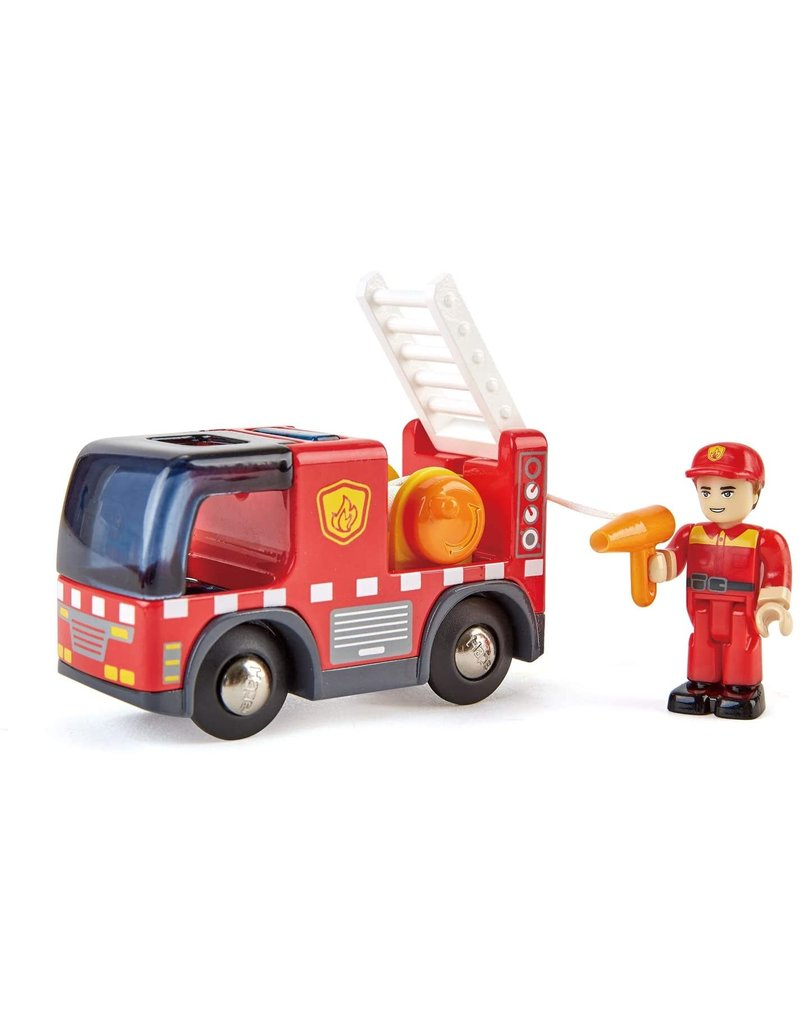 Fire Truck with Siren by Hape