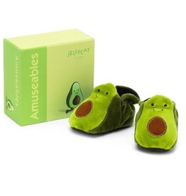 Amuseables Avocado Booties by Jellycat