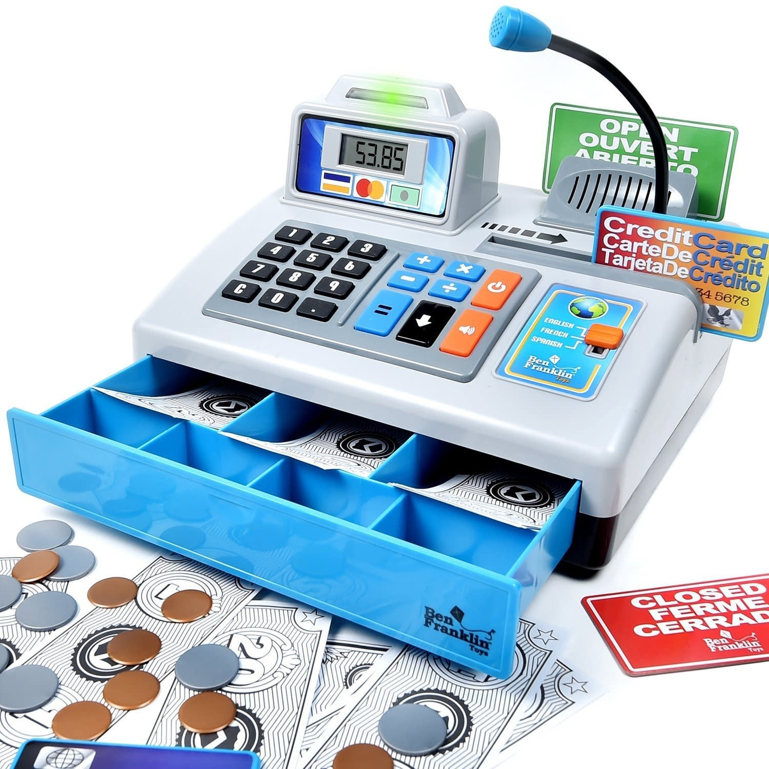 Talking Cash Register by Thin Air