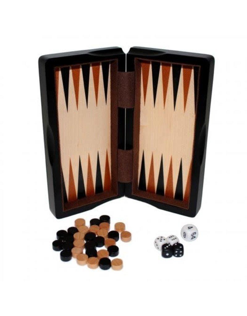 "8"" Magnetic Ebony Wood 3-in-1 Game Set by John Hansen"