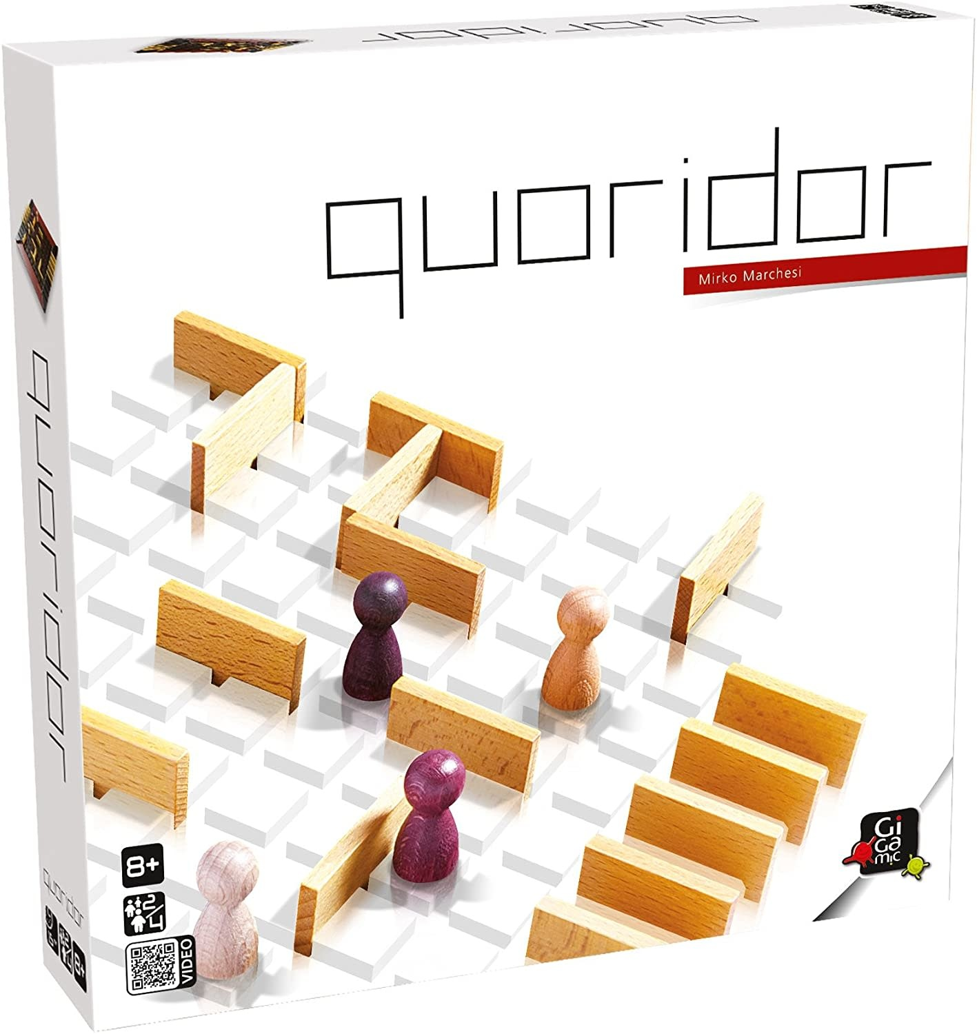 Quoridor Game by Gigamic