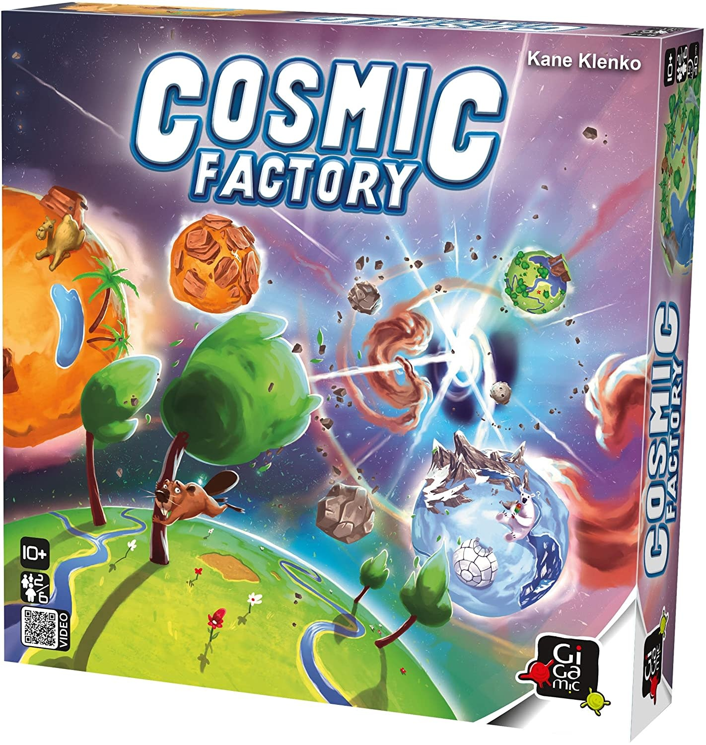 Cosmic Factory Game by Gigamic