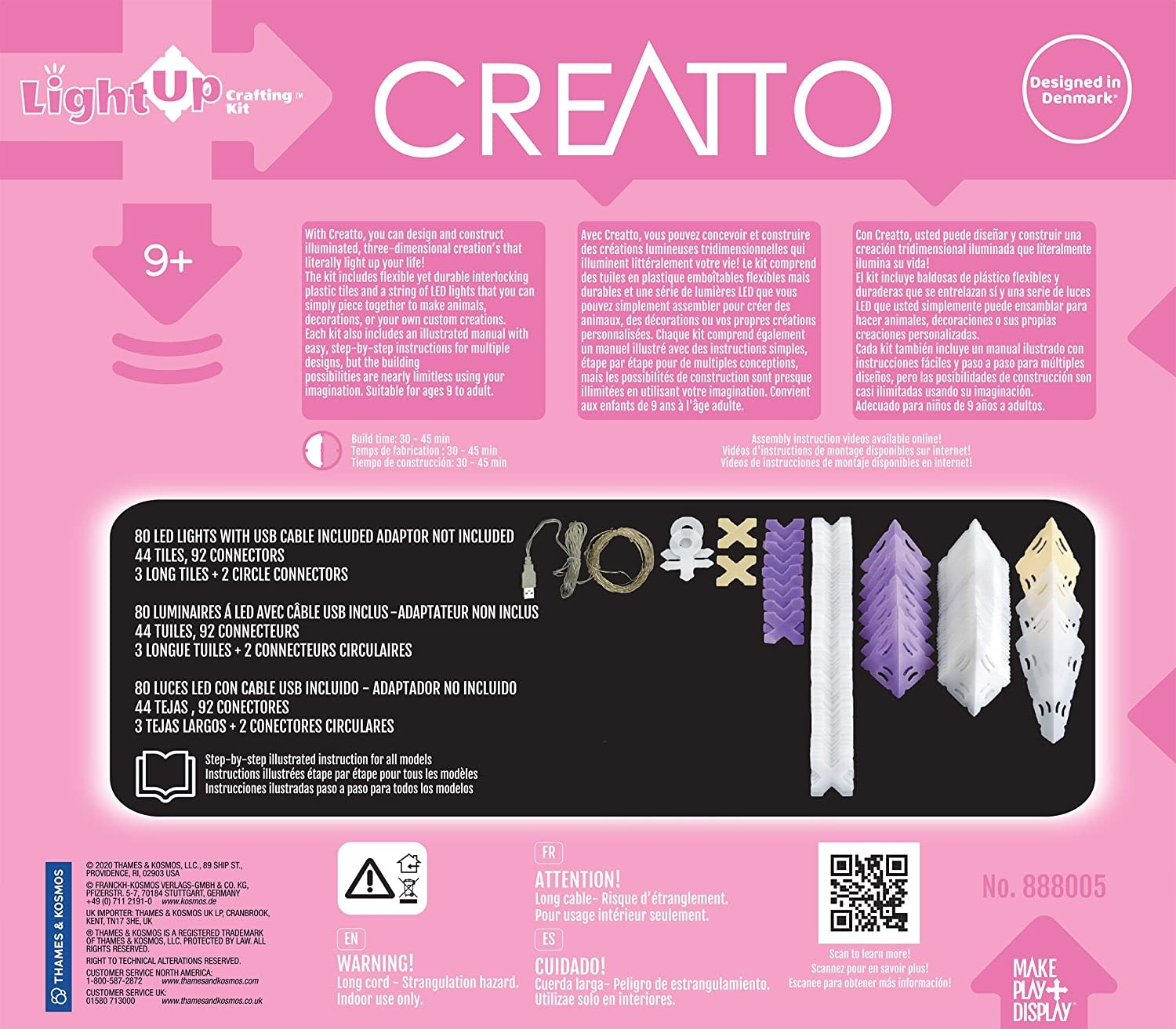 CREATTO  Sparkle Unicorn & Friends Kit by Thames & Kosmos