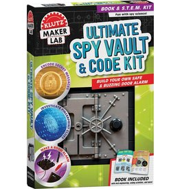 Ultimate Spy Vault & Code Kit by Klutz