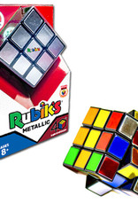 40th Anniversary Metallic Rubiks Cube by Winning Moves