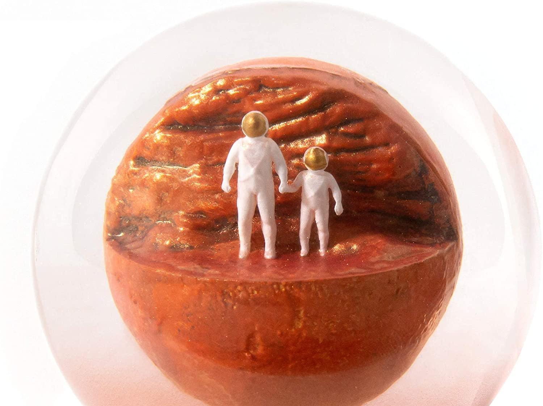 Mars Dust Globe by Yoga Joes