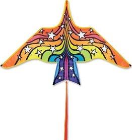 Premier Kites Thunderbird Rainbow Stars 60-in Kite by Premier
