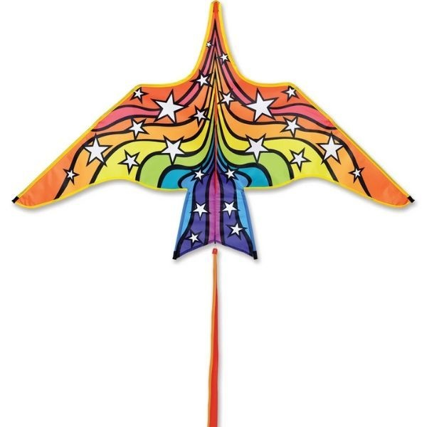 Premier Kites Thunderbird Rainbow Stars 60-in Kite by Premier