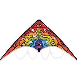 Premier Kites Zoomer 2.0 Rainbow Stars Sport Kite by Premier