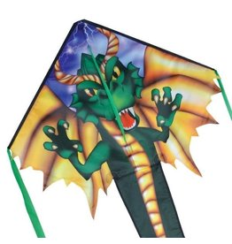 Premier Kites Reg. Easy Flyer Kite - Emerald Dragon by Premier