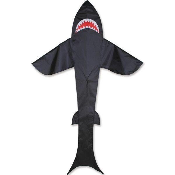 Premier Kites Black Shark Kite 7 ft by Premier