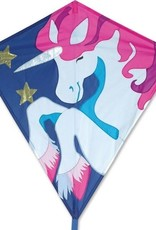 Premier Kites Diamond  Trixie Unicorn Kite 30 in by Premier
