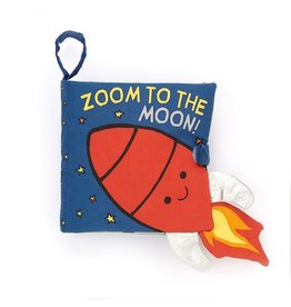 Zoom To The Moon! Book by Jellycat