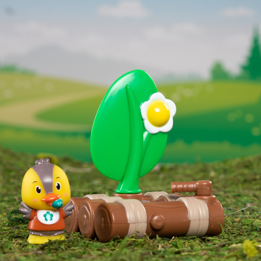 Timber Tots Lite-up Raft by Fat Brain Toys