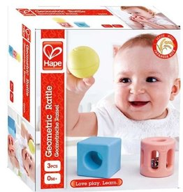 Geometric Rattle Trio by Hape