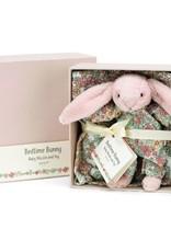 Bedtime Blossom Bunny Baby & Muslin Set