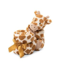 Bashful Giraffe Soother By Jellycat