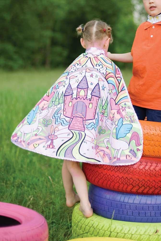 Color-A-Cape  Princess by Creative Education