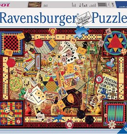 Vintage Games 1000-pc Puzzle by Ravensburger