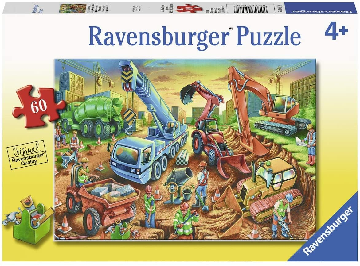 Construction Crew 60-pc Puzzle by Ravensburger