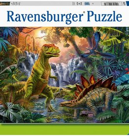 Prehistoric Oasis 100-pc Puzzle by Ravensburger