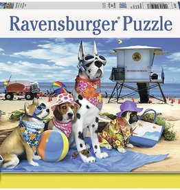 No Dogs on Beach 100-pc Puzzle by Ravensburger