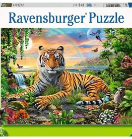 Jungle Tiger 300-pc Puzzle by Ravensburger