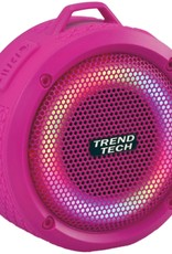 Wireless Express Inc. Waterproof Speaker  in Pink by Wireless Express