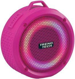 Wireless Express Inc. Waterproof Speaker  in Pink by Wireless Express