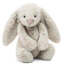 "Bashful Oatmeal Bunny Medium 12"" by Jellycat"
