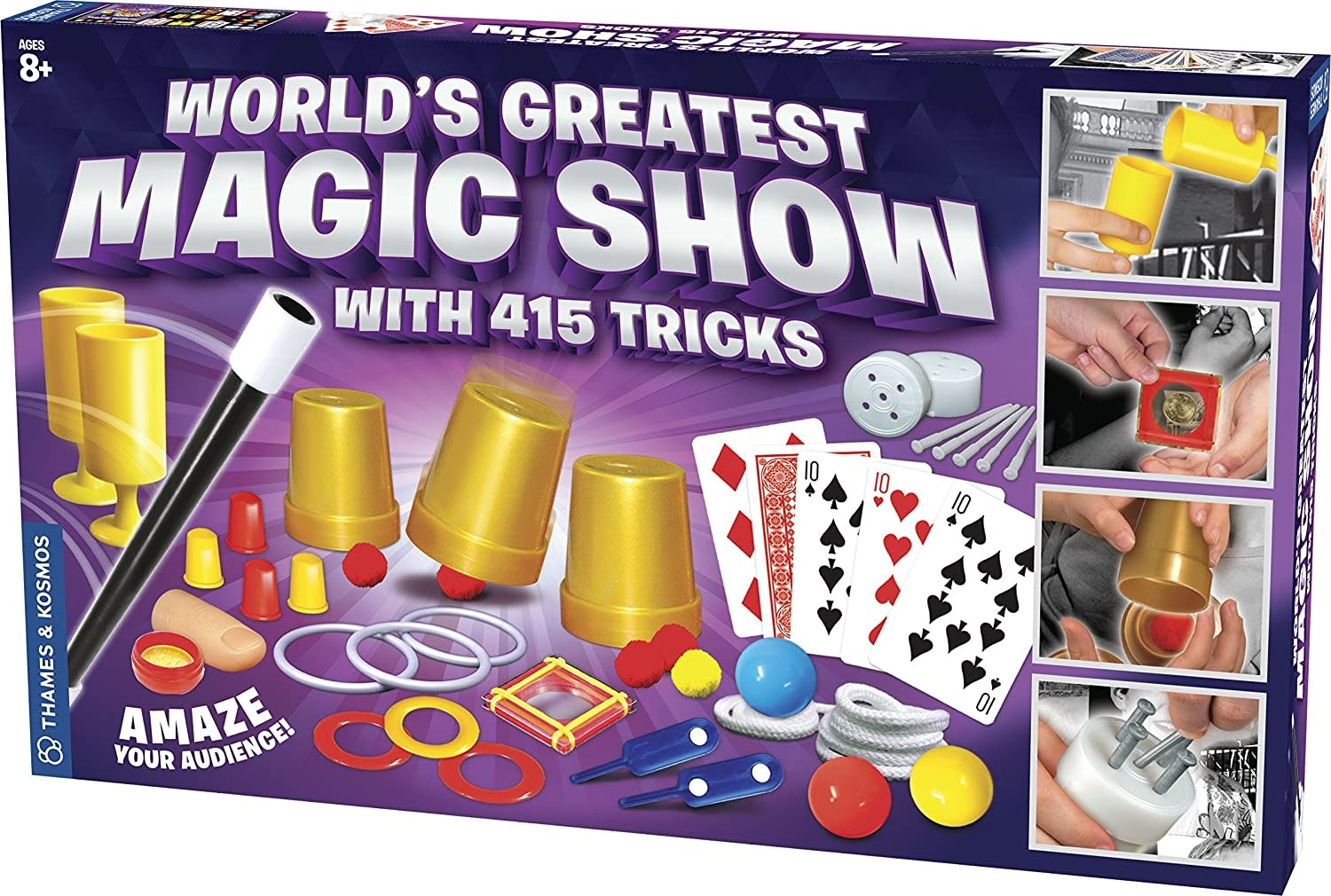 World's Greatest Magic Show (with 415 Tricks) by Thames & Kosmos
