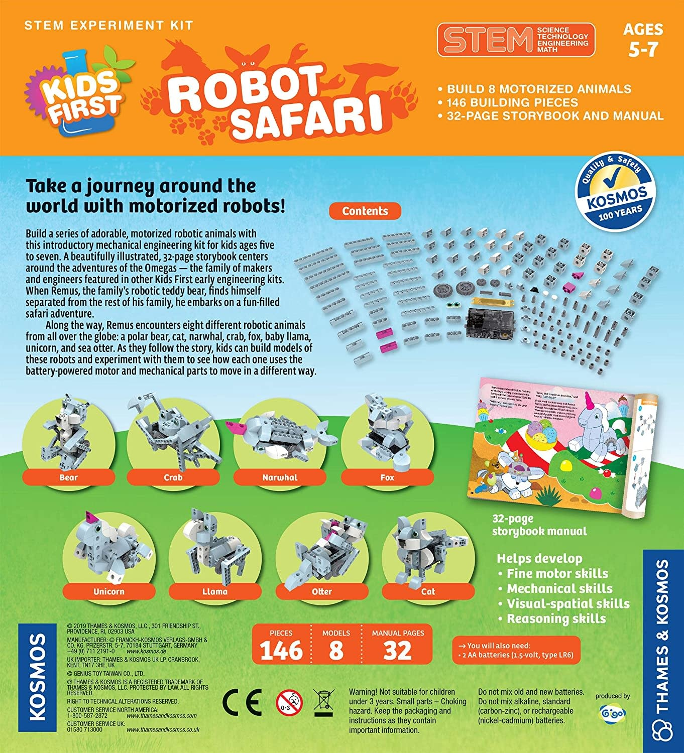 Kids First Robot Safari by Thames & Kosmos