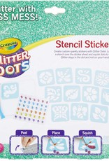 Glitter Dots Sticker Stencils by Crayola