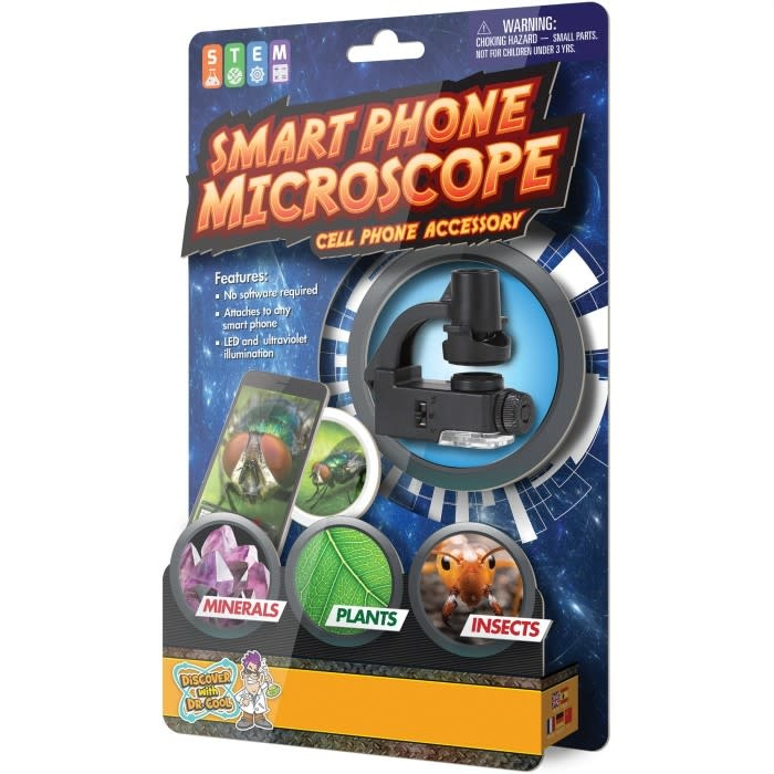 Smart Phone Microscope by Discover with Dr. Cool