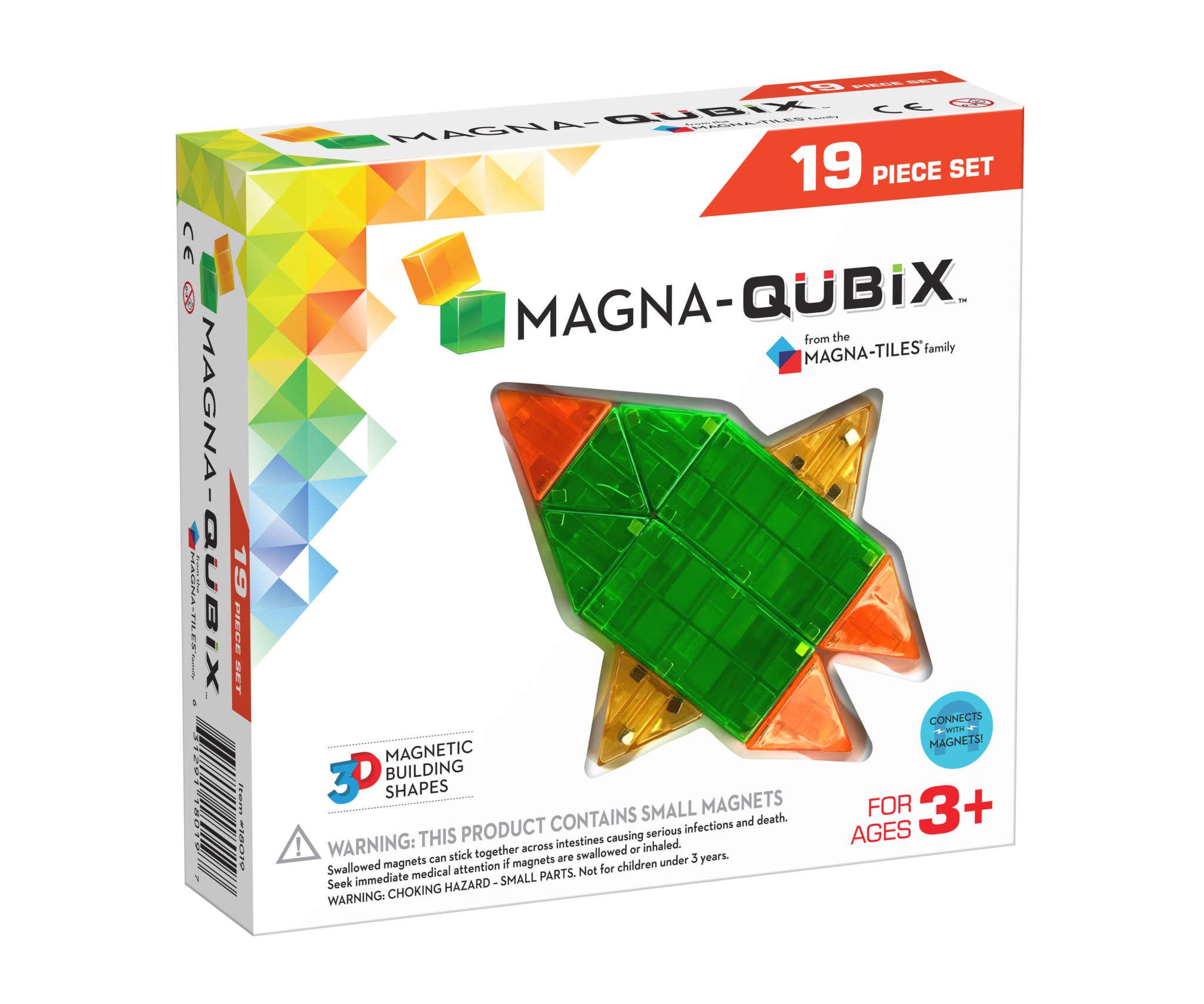 Magna-Qubix 19-pc Set by Magna-Tiles