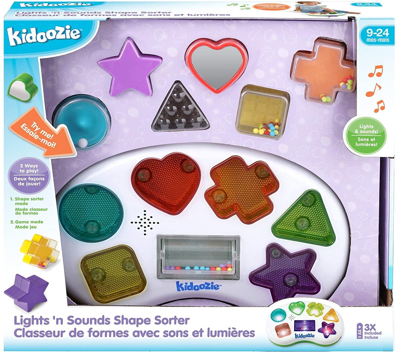 Lights 'n Sounds Shape Sorter by Kidoozie