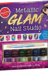 Metallic Glam Nail Studio by Klutz