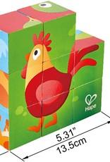Farm Animal Block Puzzle by Hape