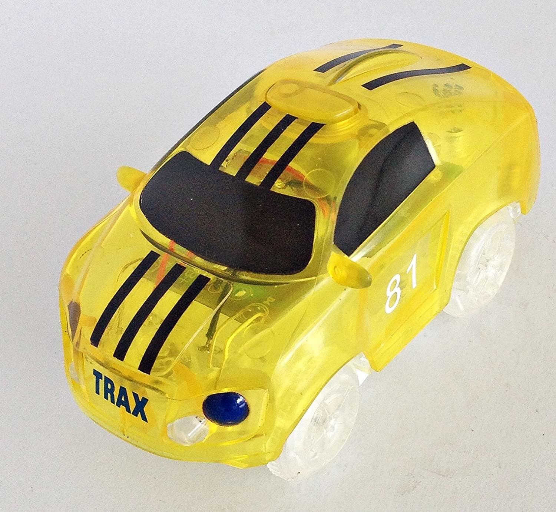 Twister Tracks 2-Race Car Neon Glow Set by Mindscope